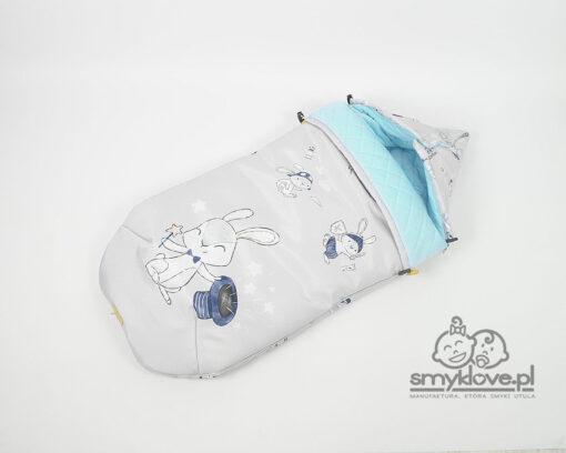 Śpiworek niemowlęcy Mały Marzyciel - Smyklove