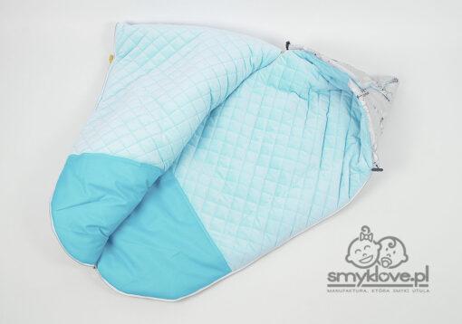 Środek śpiworka dla niemowląt z nieprzemakalnym podnóżkiem od Smyklove