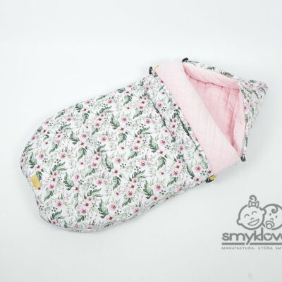 Śpiworek niemowlęcy dla dziewczynki - SMYKLOVE