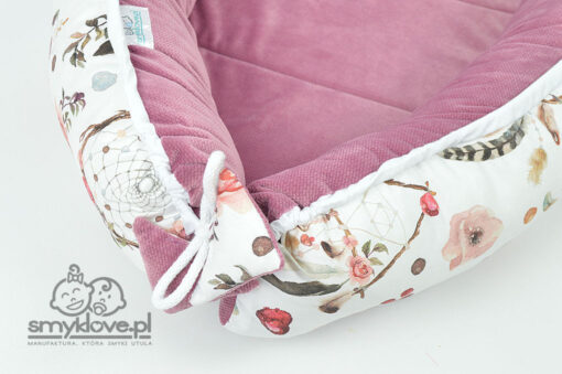 Wiązanie kokonu velvet w łapacze snów - SMYKLOVE