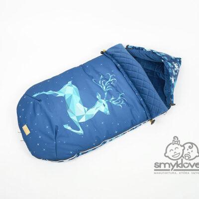 Śpiworek niemowlęcy jeleń od Smyklove