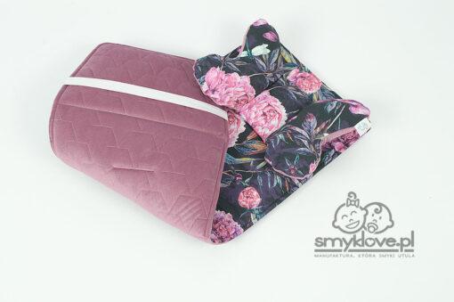 Wkładka do spacerówki Valco Baby Snap 4 z bawełny premium oraz velvetu od Smyklove