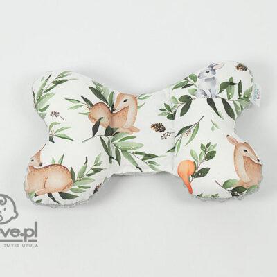 Poduszka motylek leśne zwierzęta - Smyklove