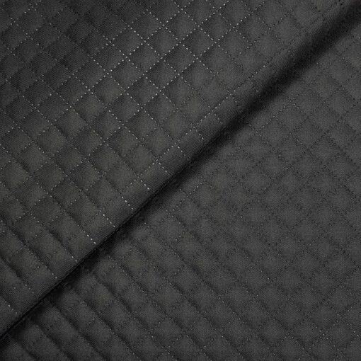Tkanina pikowana czarna nieprzemakalna - SMYKLOVE