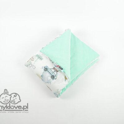 Kocyk velvet w maluchy od Smyklove