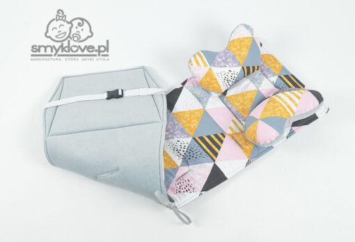 Wkładka do Baby Jogger z poduszką motylek z manufaktury Smyklove