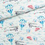 BP37 - samoloty i balony w chmurach