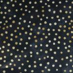 WD07 – Kropki złote na czarnym