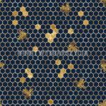 WD23 – Plastry miodu z pszczółkami na granacie