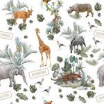Bawełna premium safari - SMYKLOVE