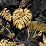 Bawełna premium złota dżungla - SMYKLOVE