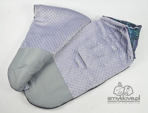 Otwory w śpiworku do wózka Baby Jogger City Mini GT2 z manufaktury Smyklove