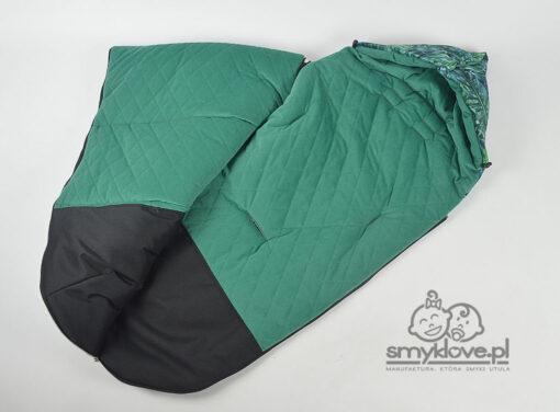 Środek śpiwora do wózka Espiro Next - dedykowane otwory i podnóżek wodoodporny - Smyklove
