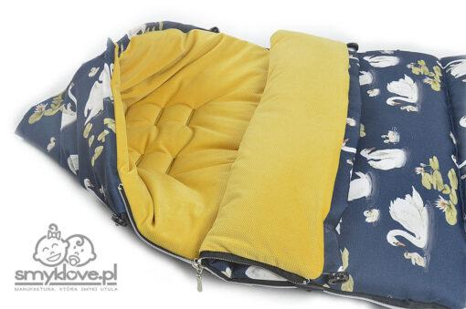 Kapturek w śpiworkach do Valco Snap Baby 4 od Smyklove