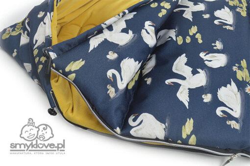 Regulacja wywijania oraz ściągacze w śpiworku do spacerówki Valco Baby Snap 4 od Smyklove