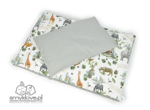 Pościel w safari do łóżeczka w różnych rozmiarach od Smyklove